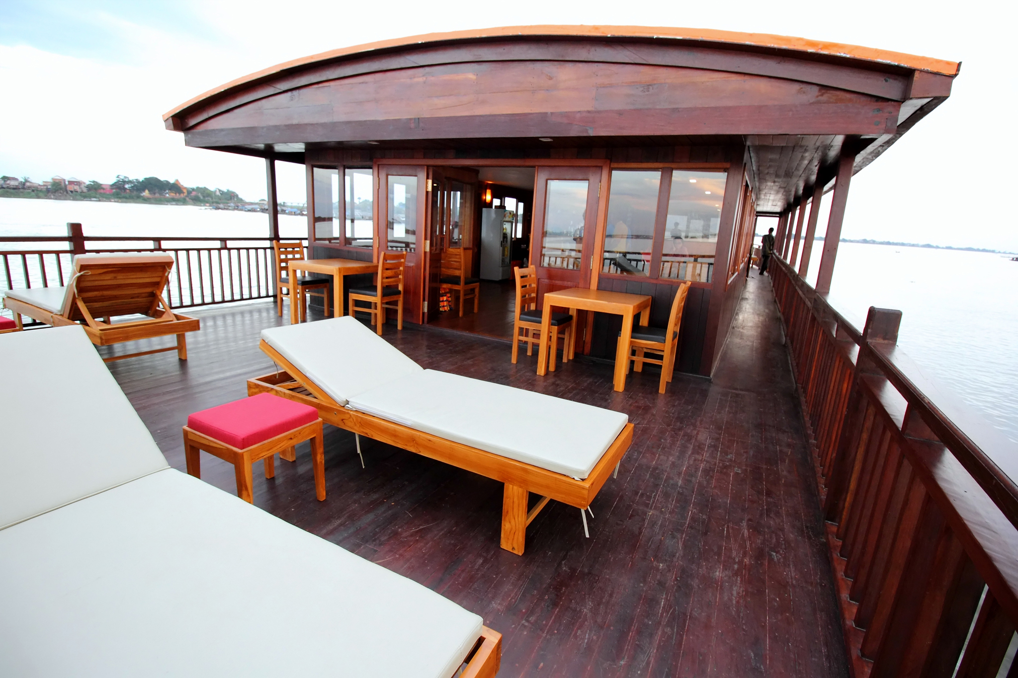 Restaurant and deck